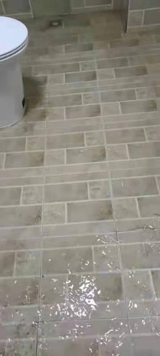 河北涉县卫生间漏水免砸砖施工案例