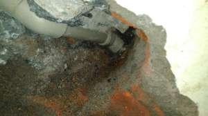 惠州室内水管漏水原因_惠州自来水管道漏水